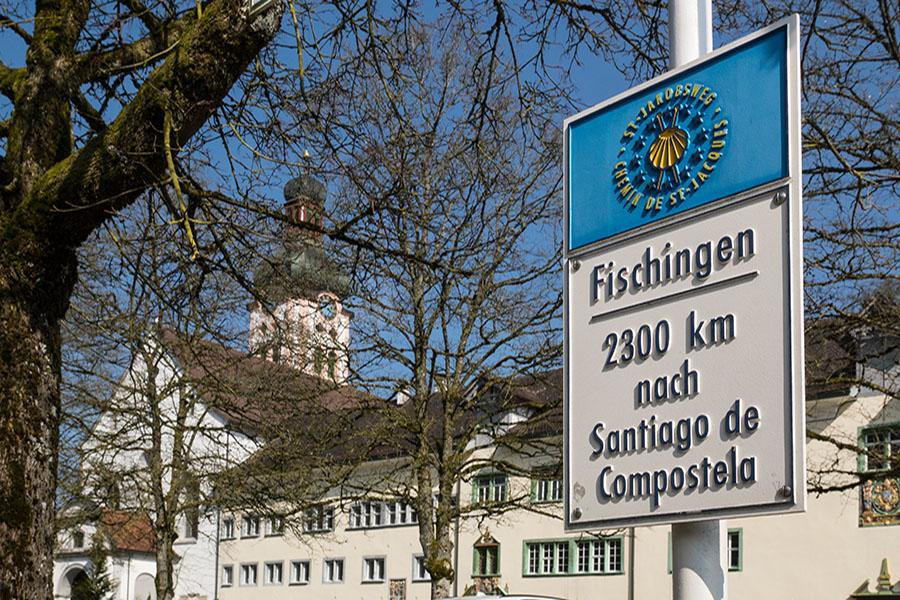 Kloster Fischingen am Jakobsweg