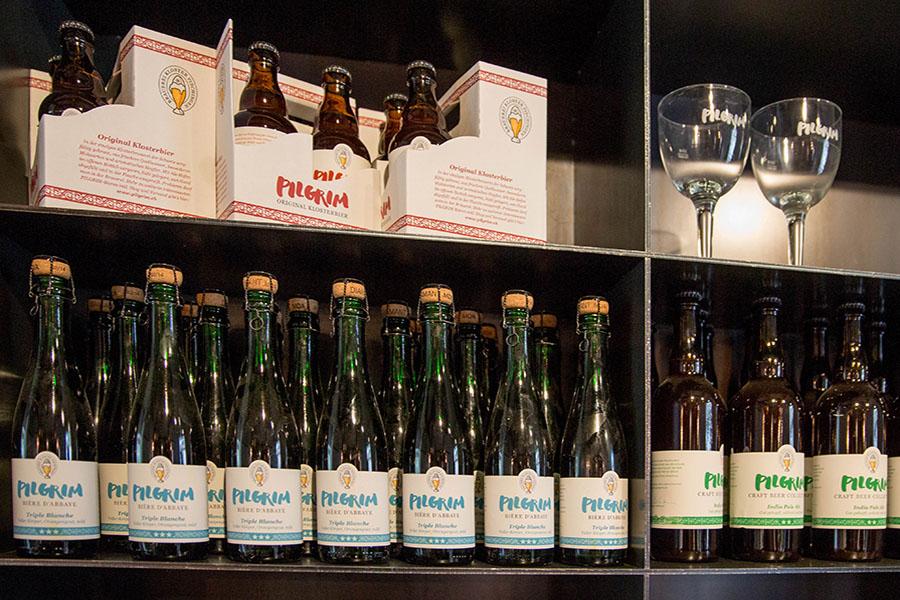PILGRIM Champagnerflaschen mit Naturkorken