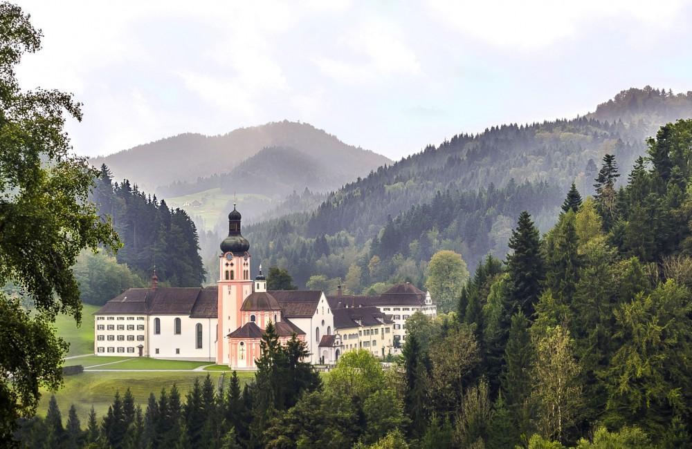 Kloster Fischingen mit der einziger Schweizer Klosterbrauerei