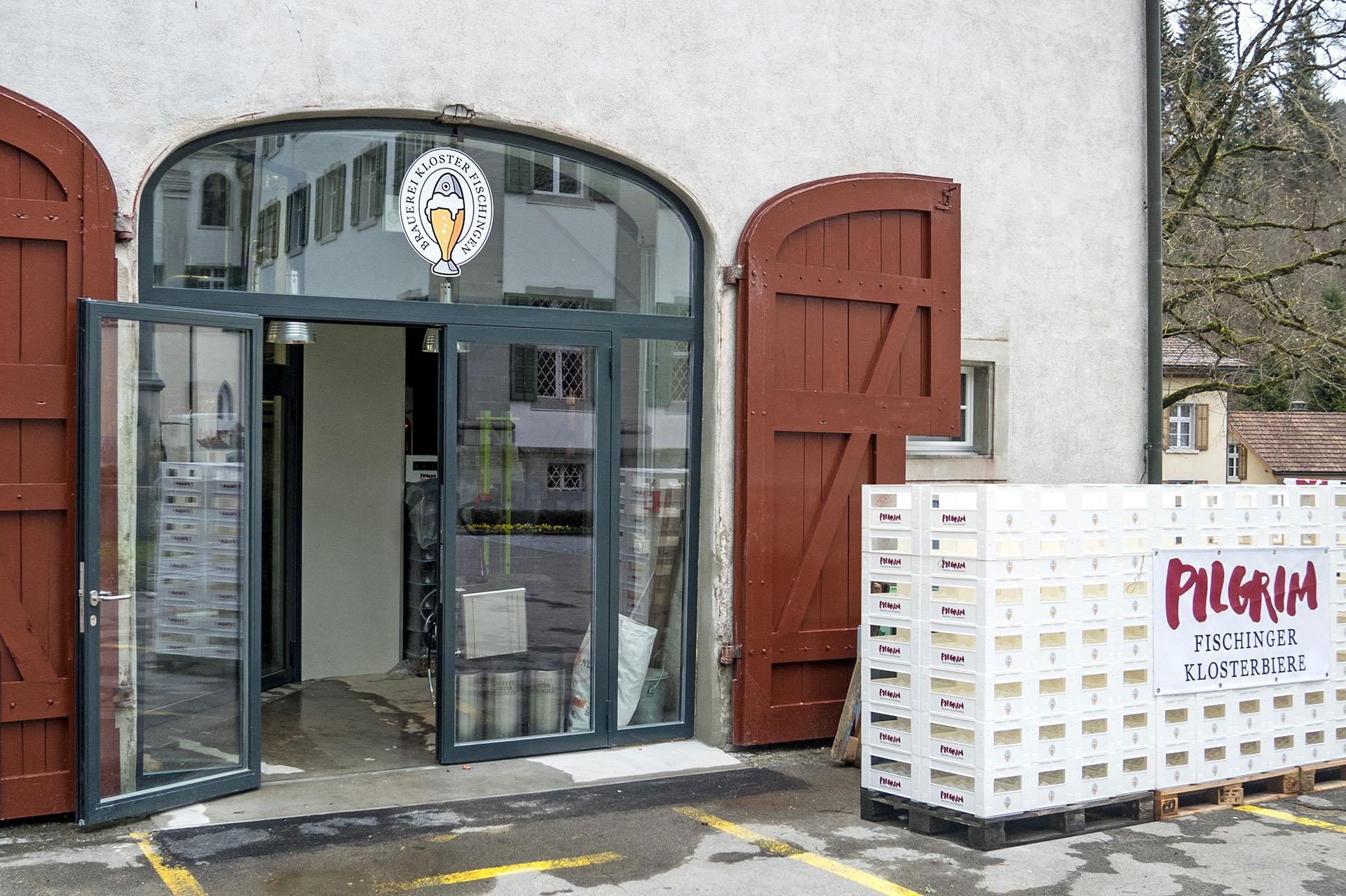 Das grosse Tor zu Brauerei