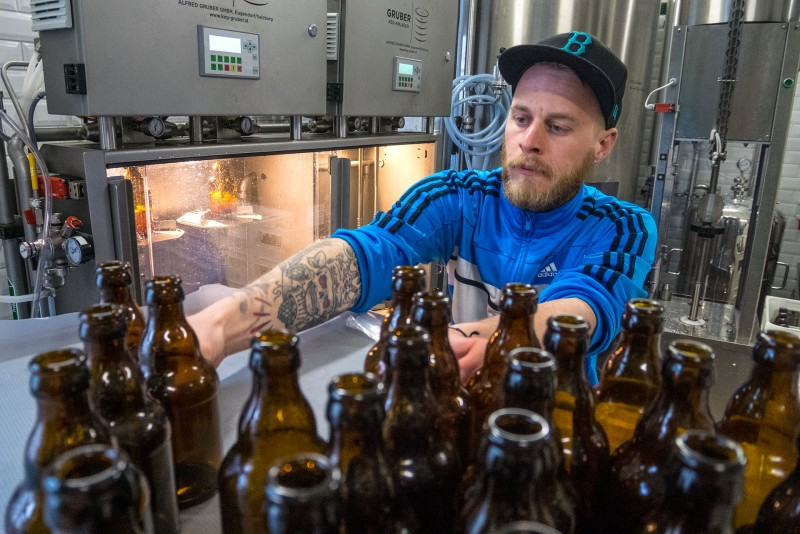 Craft Beer Brewer Sebastian Merk