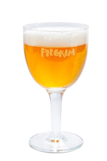 Belgischer Bierkelch. Bière d'Abbaye