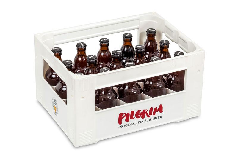 PILGRIM-Harass mit 15x33cl Flaschen