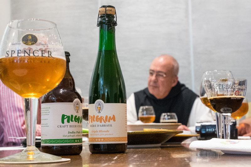 Father Isaac, Direktor der Trappisten-Brauerei Spencer MA USA