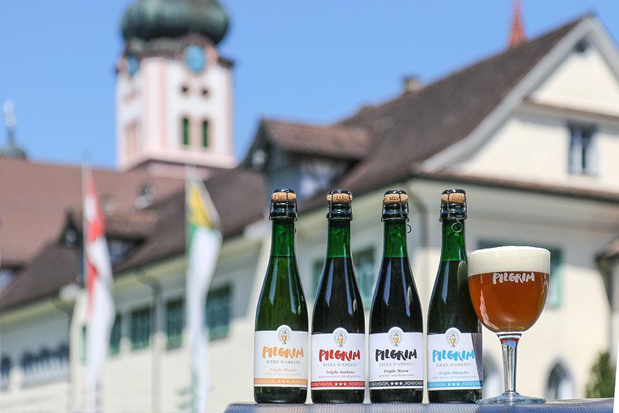 PILGRIM Bières d'Abbaye Triple 37.5cl im Kloster Fischingen