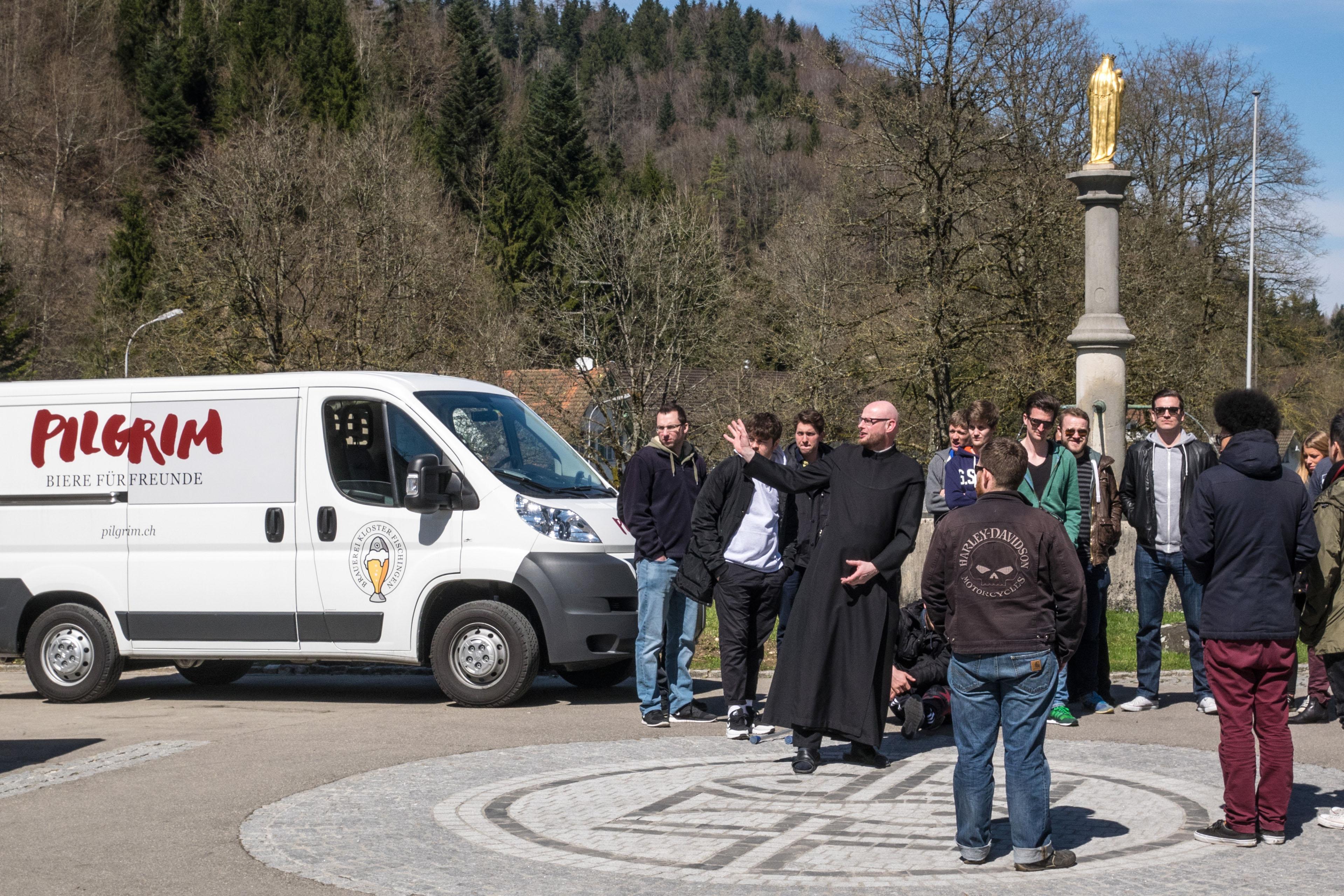 Klosterführung vor der Brauerei