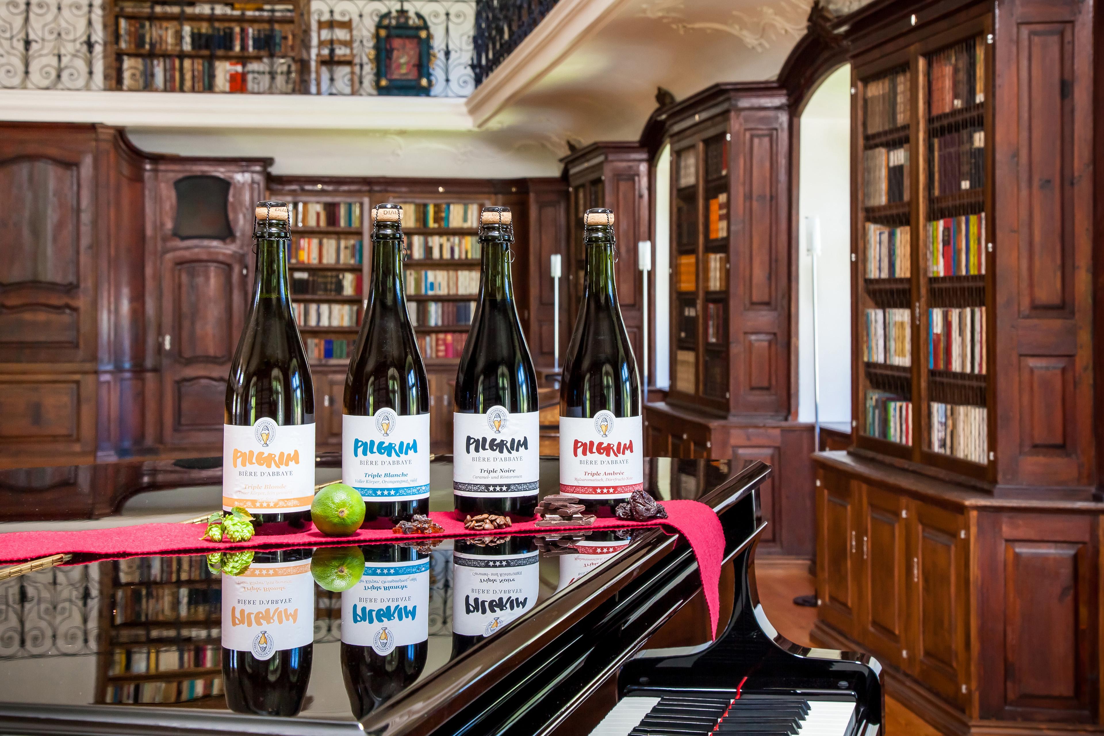 Bières d'Abbaye Triple 75cl Bibliothek Kloster Fischingen