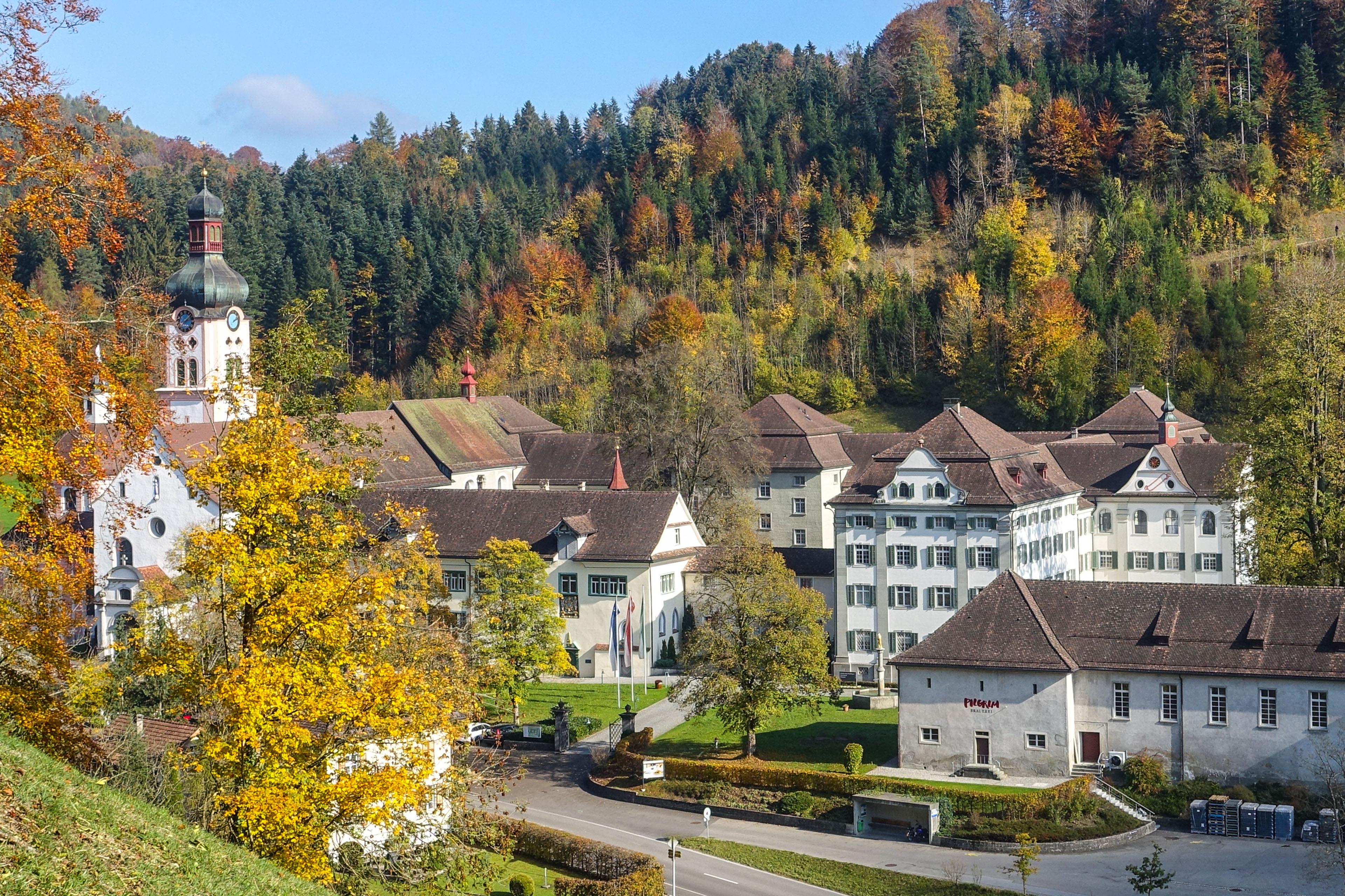 Barocke Klosteranlage Fischingen mit PILGRIM Brauerei